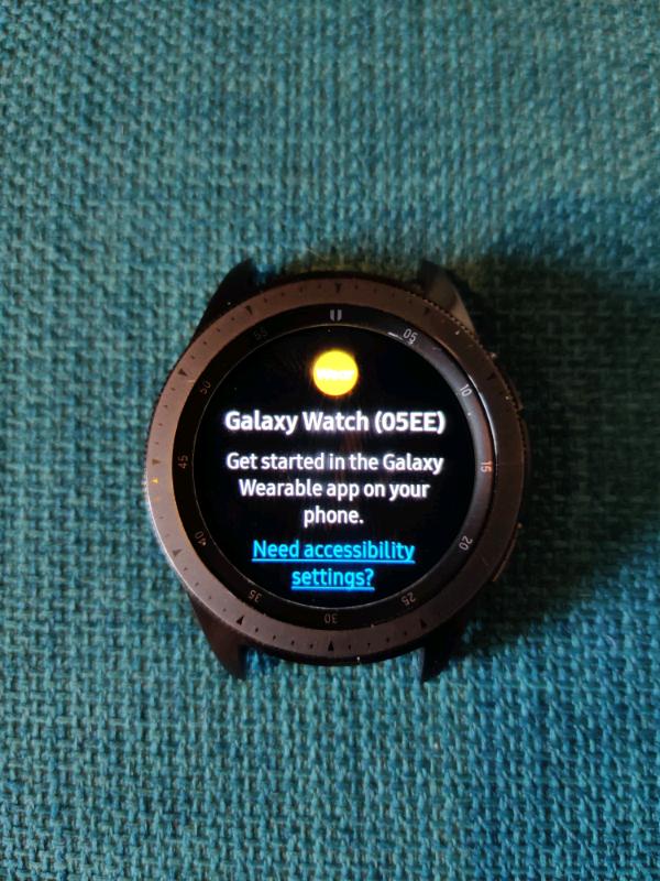 Samsung Galaxy Watch 42mm 4G | in Kilsyth, Glasgow | Gumtree