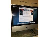 "Apple iMac 20"" dual core 2.66ghz 4gb ram 320hdd"