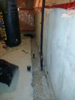 Basement waterproofing- Internal Drainage Systems