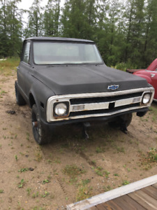 71 c10 chev short box 4x4