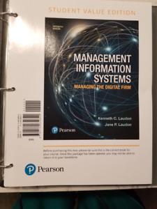 Information Management Systems - Managing the Digital Firm 15th