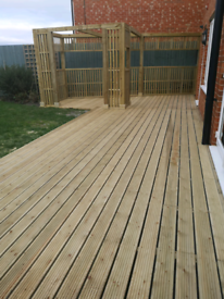 Garden Decking Services Pergolas