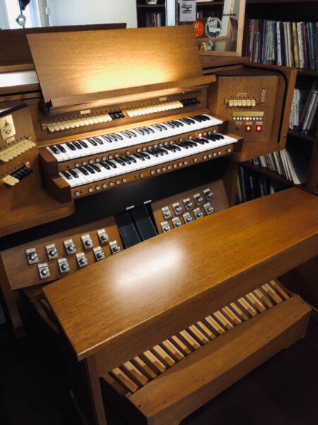 Rextone church organ