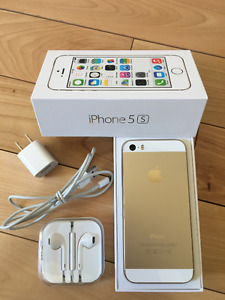 iPhone 5S - 16 GB - Blanc et Or - Rogers