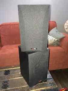Pair- Polk Audio R15 Bookshelf Speakers