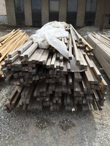 2x2 Pine PILE - LUMBER CLEAROUT