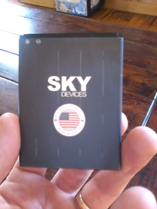 Sky device 5.0 battery. Only used for 5 months $50.00 obo