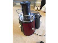 Andrew James Metallic Red Juicer