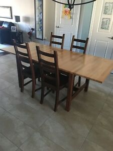 Dining/Kitchen Table + 4 Chairs