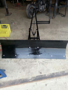 Plow to fit ATV