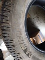 4 Michelin truck tires