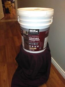 Never Used Semi Transparent Behr Stain