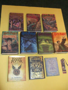 TEN VOLUMES: Harry Potter plus more US editions