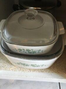 Vintage Callaway Corningware Cookware