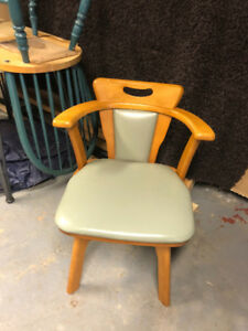 4 mid-century modern chairs for sale