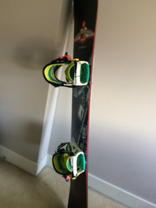 Mole Snowboard Package (Board +Bindings + Boots + Goggles)