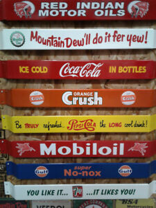 MANCAVE RECROOM AND BAR SIGNS