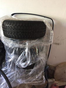 Uniroyal Tiger Paw Ice & Snow Winter Tires with rims (225x60x16)