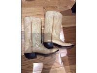 Tony Lama American Western Boots-cow boys- el paso texas - HAND MADE
