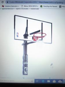 Système de basketball à fixation dans le sol NEUF