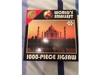 1,000 piece world's smallest jigsaw