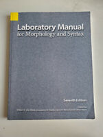Laboratory Manual for Morphology and Syntax