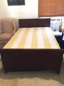 Vintage Timber Double Bed Frame Milton Brisbane North West Preview