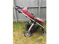 Mamas and Papas Red Sola Pushchair