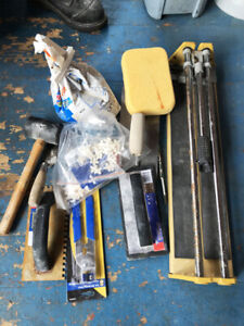REDUCED-Ceramic Tile Tools and Concrete Trowels