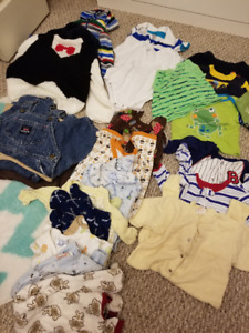 Lot of baby boy clothes - 6- 12 months