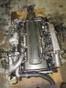 JDM  2JZGTE NON VVTI TWIN TURBO ENGINE JDM 2JZGTE MOTOR