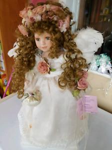 Angel Porcelain Doll