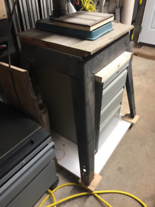 USED Work Bench and Tool Stand