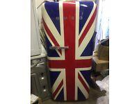 Smeg Union Jack large fridge/freezer