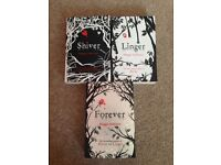 Shiver, Linger, Forever books by Maggie Stiefvater