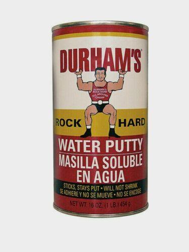 New! Durhams Rock Hard Water Putty 16oz Sticks, stays put. Will not shrink. 1LB
