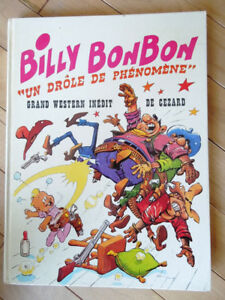 Album bd : Billy Bonbon par Paul Cézard, EO 1974