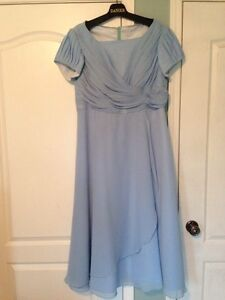 Modest Long Bridesmaid Dress