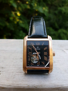 Men's Rose Gold Bulova Watch