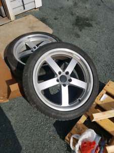 20 inch beyern wheels for sale! 5x120mm or 5x4.75""