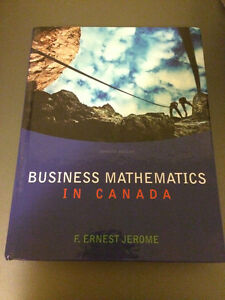 Business Mathematics in Canada, 7th Ed