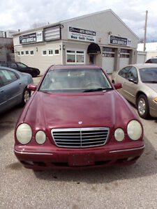 2002 Mercedes-Benz 400-Series-$1400 as is/$2800 safety & repairs