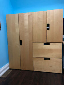 IKEA KIDS: two wardrobes, excellent condition