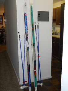 Cross Country Skis - Fischer and Atomic & Salomon Bindings