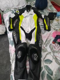 Alpinestars 1 piece leather suit