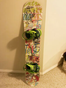 Snowboard Gear -  *BOARD AND BINDINGS USED ONCE*