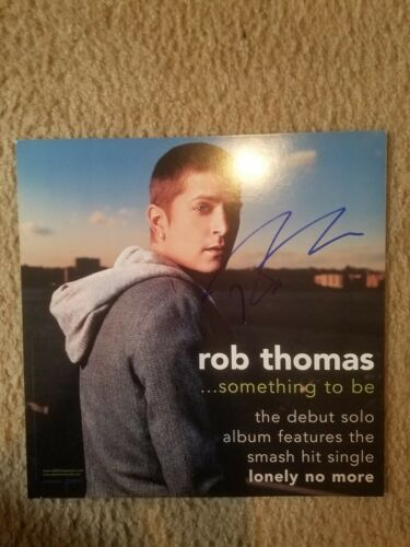 ROB THOMAS MATCHBOX 20 signed autographed album flat