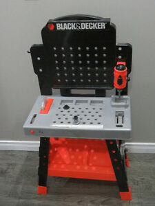 Black and Decker Children's Tool Bench Set