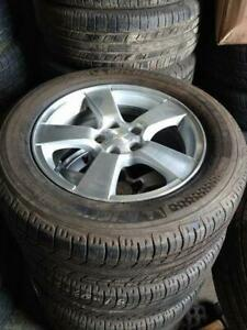 Used 205 55 16 / 215 60 16 all season tires on OEM Chevy Cruze Sonic rims 5x105 /// TPMS sensors in stock