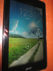 """TABLET """"ACER ICONIA"""" (RED)"""